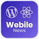 Free Download Webile News - React Native mobile app for Wordpress Nulled