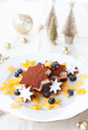 Festive ice cream dessert - PhotoDune Item for Sale