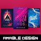 3 in 1 Galaxy Flyer/Poster Bundle - GraphicRiver Item for Sale