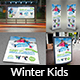 Free Download Kids Winter Camp Advertising Bundle Nulled