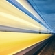 Light trails of passenger train - PhotoDune Item for Sale