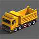 Voxel Tipper Truck - 3DOcean Item for Sale