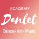 Danlet Academy WordPress Theme - Art Education - ThemeForest Item for Sale