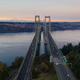 Aerial View Tacoma Narrows Bridges over Puget Sound Mount Rainier - PhotoDune Item for Sale