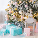 Presents and Gifts under Christmas Tree - PhotoDune Item for Sale