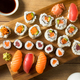Homemade Huge Sushi Platter - PhotoDune Item for Sale
