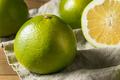 Raw Green Organic Golden Pomelo - PhotoDune Item for Sale