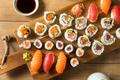 Homemade Huge Sushi Platter - PhotoDune Item for Sale
