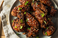 Homemade Spicy Korean Chicken Wings - PhotoDune Item for Sale