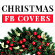 Free Download Christmas Sale Facebook Cover Templates - 5 Designs Nulled