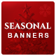 Seasonal Sale Facebook and Instagram Newsfeed Images - 20 Banners - GraphicRiver Item for Sale