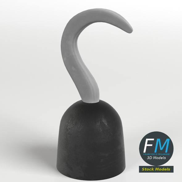 Pirate hook toy - 3DOcean Item for Sale