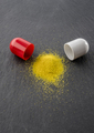 Open capsule powder medication, conceptual image - PhotoDune Item for Sale