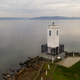 Boat at Browns Point Lighthouse Commencement Bay Puget Sound Tacoma - PhotoDune Item for Sale