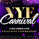 Free Download New Year Carnival Flyer Nulled
