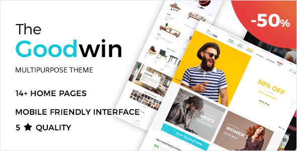 Goodwin - Shopify Theme - Fashion Shopify