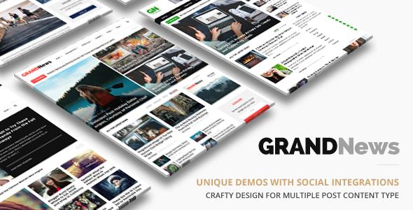 Grand News   News Magazine - News / Editorial Blog / Magazine