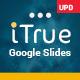 iTrue Powerful Multipurpose Google Slides Template Theme - GraphicRiver Item for Sale
