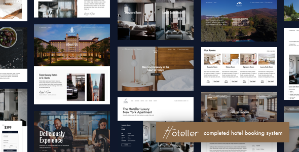 Hoteller | Hotel Booking WordPress - Travel Retail