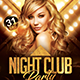 Free Download Night Club Flyer Nulled