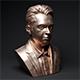 rose gold man sculpture-39 - 3DOcean Item for Sale
