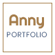 Anny || Creative Work Showcase - ThemeForest Item for Sale