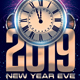 Free Download New Year Eve Flyer Nulled