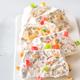 White nougat slices on white plate - PhotoDune Item for Sale