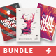 Creative Sound vol.8 - Party Flyer / Poster Templates Bundle - GraphicRiver Item for Sale