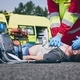 Cardiopulmonary resuscitation on road - PhotoDune Item for Sale