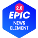 Epic News Elements - News Magazine Blog Element & Blog Add Ons for Elementor & WPBakery Page Builder - CodeCanyon Item for Sale