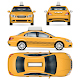 Yellow Taxi Car - GraphicRiver Item for Sale