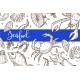 Seafood Restaurant Sketch Poster for Menu - GraphicRiver Item for Sale