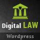 Digital Law | Attorney, Lawyer and Law Agency WordPress Theme - ThemeForest Item for Sale