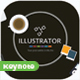 Illustrator Keynote Presentation Templates - GraphicRiver Item for Sale