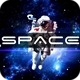 Astronaut In Deep Space - VideoHive Item for Sale