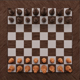 wooden chess desk table - 3DOcean Item for Sale