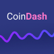 Cryptocurrency Saas Landing Page Template - Coindash