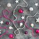 Silver and pink Christmas decorations - PhotoDune Item for Sale