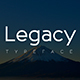 Legacy Typeface - GraphicRiver Item for Sale