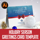 Holiday Season Greetings Card - GraphicRiver Item for Sale