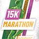 Marathon Event Flyer - GraphicRiver Item for Sale