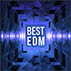 Free Download Best EDM Music Album Cover Template Nulled