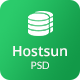 Hostsun - Web Hosting PSD Tmeplate - ThemeForest Item for Sale