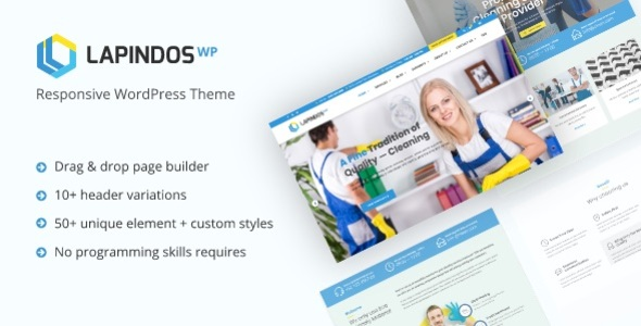 Lapindos - Responsive WordPress Theme - Business Corporate