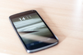 Smartphone on a desk - PhotoDune Item for Sale