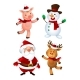 Merry Christmas Characters - GraphicRiver Item for Sale