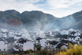 chinese shicheng village landscape in morning - PhotoDune Item for Sale