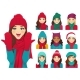 Free Download Women Set in Hats Nulled