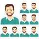 Free Download Beard Man Expression Set Nulled